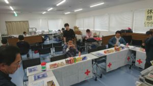 献血活動 2018/01/28